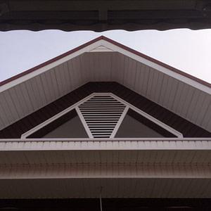 Слуховое окно с решеткой, профиль Galwin